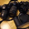 [camera]我が家の一眼レフカメラたち