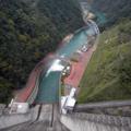 [dam]宮ヶ瀬ダムから見下ろす