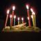 にゃにゃ、誕生日のケーキ
