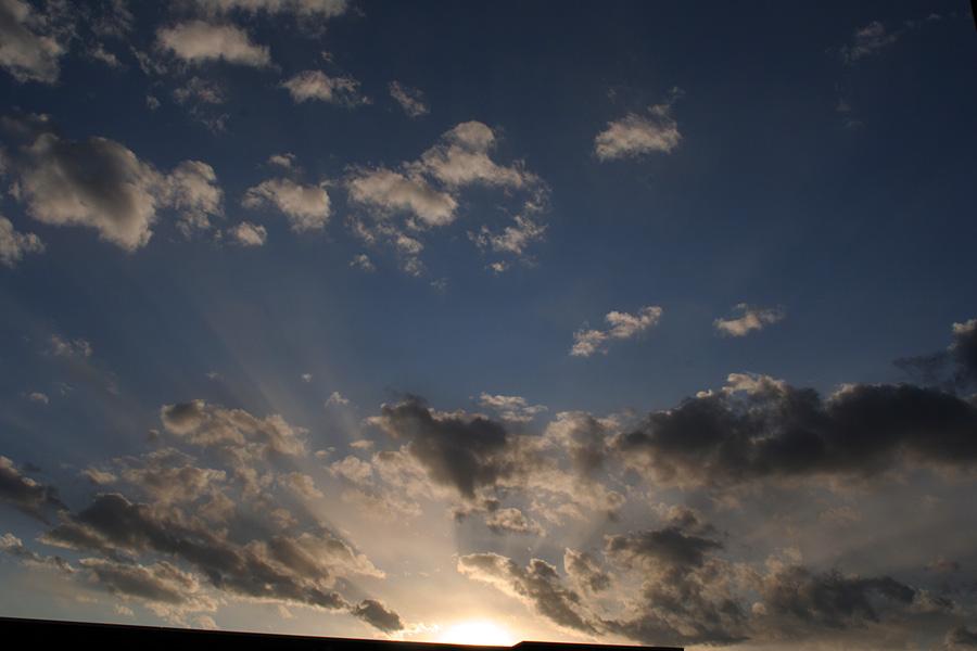 元旦の夕景2009