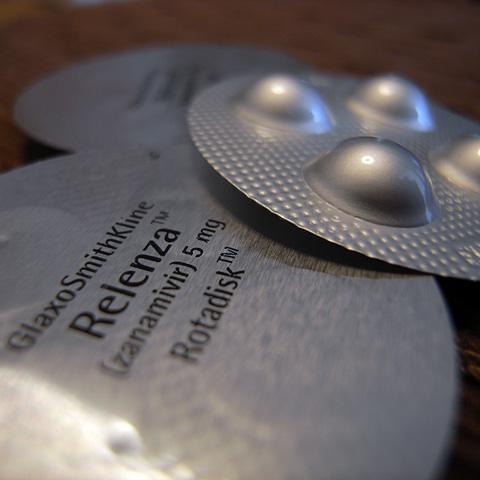 抗インフルエンザ薬 リレンザ