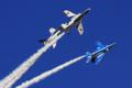 [入間基地航空祭2009][飛行機]ブルーインパルス飛行展示