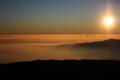 [風景][夕焼け]マウナケア山頂からのサンセット