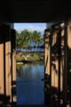 [風景]ハワイ島、ホテルからビーチを見る