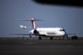 [風景][飛行機]ハワイ島、コナ国際空港にて