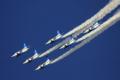 [飛行機][入間2010]ブルーインパルス