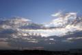 [夕焼け][風景]2011年7月10日の夕暮れ