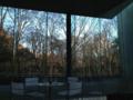 [風景]窓の外は冬/ポーラ美術館