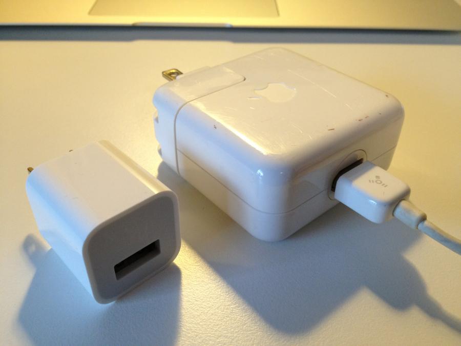 iPod ACアダプタ比較