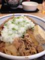 [food]牛鍋丼
