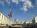 [風景]国立駅は工事中