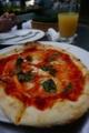 [food]テラスでごはん、マルゲリータ