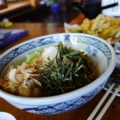 [food][tour]山菜蕎麦、そば処轟家、山梨県
