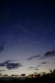 [風景][夕焼け]夕焼け、山梨県