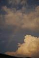 [風景][夕焼け]虹が出ました