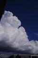 [風景]夏のような雲、自宅から