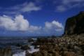[tour][風景]犬吠埼灯台下、まるで盛夏のような空、銚子