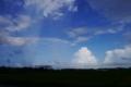 [tour][風景]突然の豪雨の後の虹、銚子近く