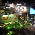 [風景]渋谷の夜景、ヒカリエから観る