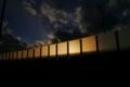 [風景][夕焼け]夕暮れ時の空