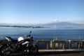 [tour][風景]駿河湾の向こうに富士山