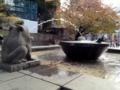 [風景]上野、カエル噴水
