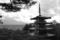 新倉浅間神社の五重塔と富士山