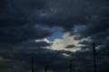 [風景]夕立の空
