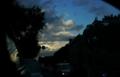 [風景]夕闇迫る空