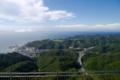 [tour][風景]鋸山、展望台より東京方面