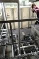 地下の受水槽とポンプ室