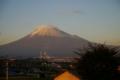 [tour][風景]笠雲と富士山