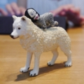 [things]シュライヒ、ホッキョクオオカミ