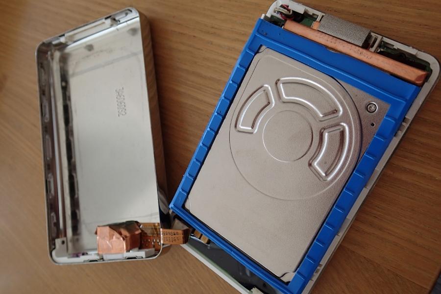 iPod 3rdを分解