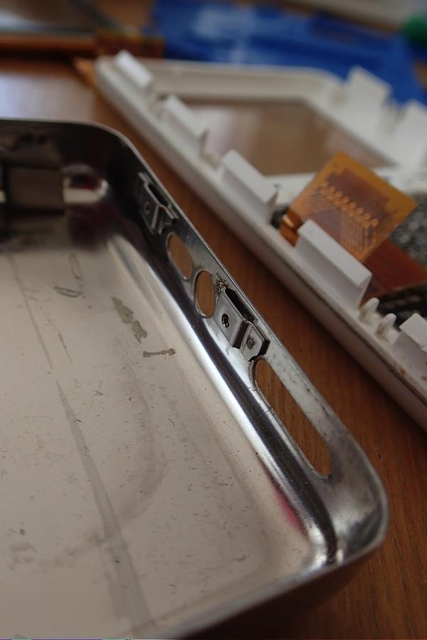 iPod 3rdカバー内側