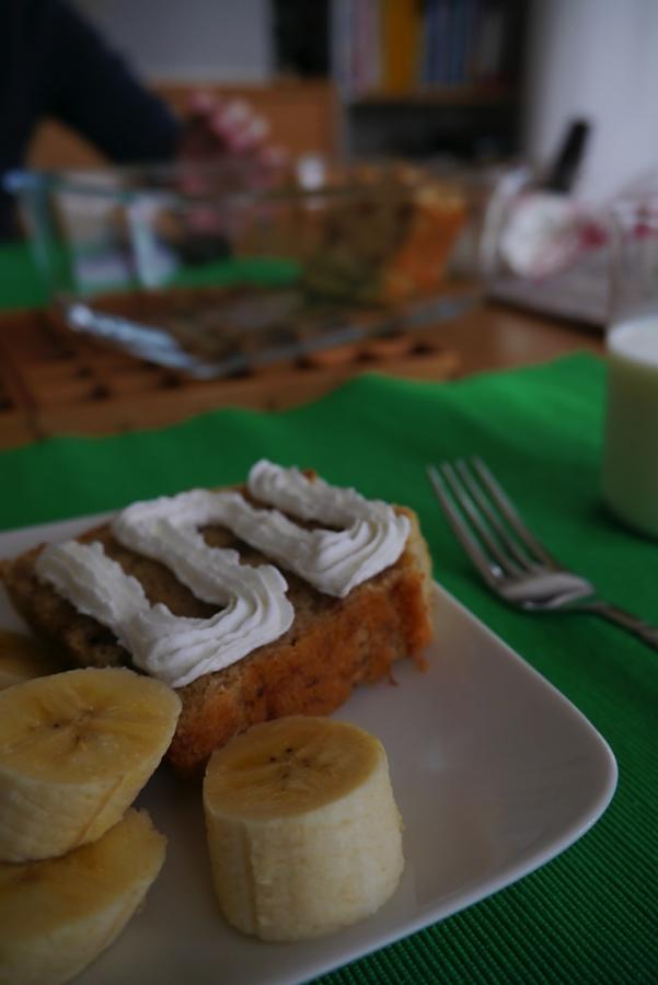 パウンドケーキ(バナナ)