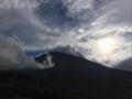 [風景]小富士から見上げる富士山