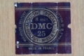 DMCの古い刺繍糸の帯