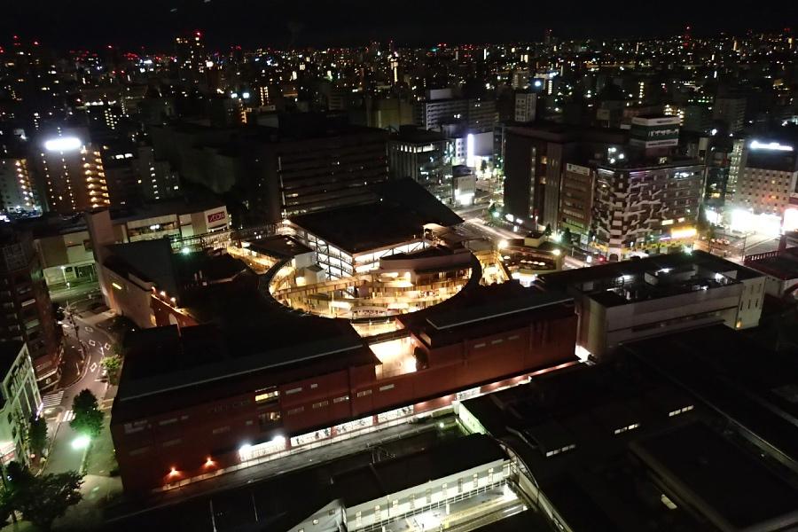 名古屋、夜景