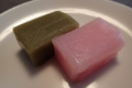 名古屋土産、ういろう、桜と抹茶