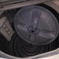 洗濯機、清掃後
