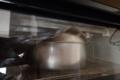 ライ麦パン、アルミホイルを載せました