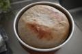 ライ麦パン、焼成後