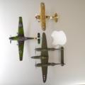 平面形、Ta-152H、P-38、CR.42