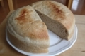 ライ麦パン、中まで焼けている