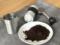 珈琲豆10gを挽きました
