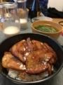 豚丼(^_^)