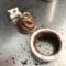 コーヒーミル、洗浄前
