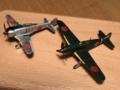 二式単座戦闘機と三式戦闘機