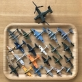 1/144 飛行機 集合写真